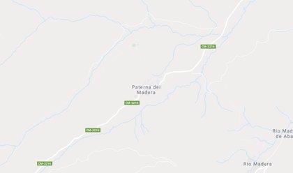 Muere un motorista de 61 años tras chocar frontalmente con un turismo en Paterna del Madera