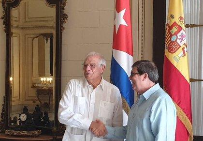 España/Cuba.- Borrell confirma en La Habana que los Reyes viajarán a Cuba justo después de las elecciones