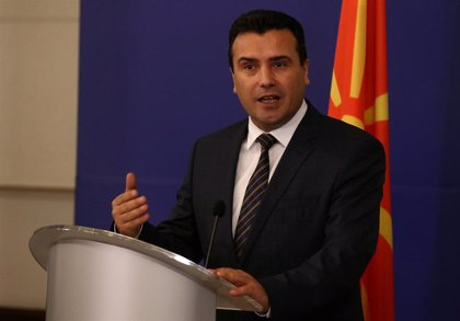 """El primer ministro macedonio pide a líderes de la UE """"una decisión positiva"""" para abrir negociaciones de adhesión"""