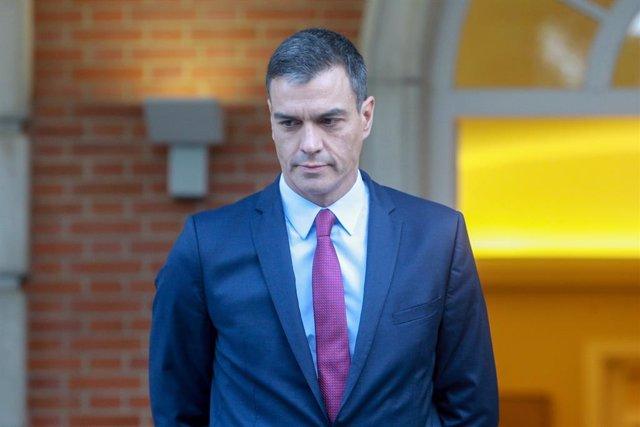 El president del Govern espanyol, Pedro Sánchez, es reuneix a Moncloa amb líders de partits