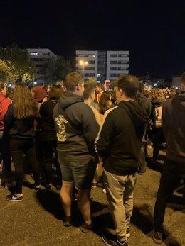 2.000 Persones Protesten A Lleida Per les Detencions En Els Altercats D'Aquest Dimarts
