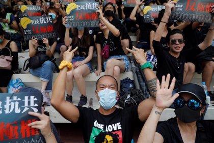 Agredido con martillos uno de los líderes de las recientes manifestaciones en Hong Kong