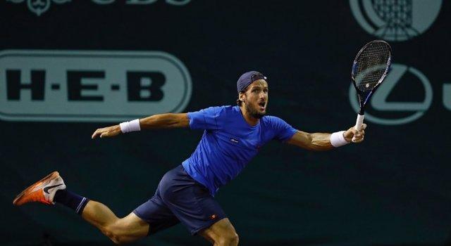 Tenis.- Feliciano lucha sin premio contra Wawrinka en Amberes