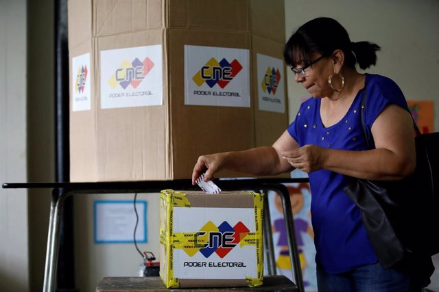 Urnas del Consejo Nacional Electoral (CNE).