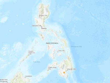Asciende a cinco el número de muertos por el terremoto de magnitud 6,3 en el sur de Filipinas