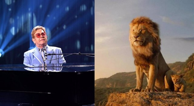 Elton John critica el remake de El rey león