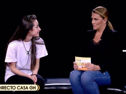 'GH VIP': Carlota Corredera se encuentra con Irene Junquera y Adara antes de la expulsión