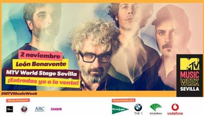 León Benavente se suma a Green Day en el MTV World Stage Sevilla