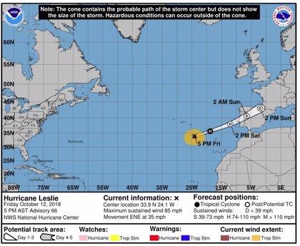 Huracanes pueden provocar actividad sísmica océanica como un terremoto