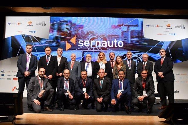 Nueva junta directiva de la Asociación Española de Proveedores de Automoción (Sernauto)