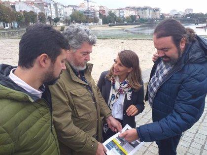 """Galicia en Común denuncia """"complicidad"""" de Puerto, alcaldía y Gobierno para permitir un nuevo relleno en Bouzas"""