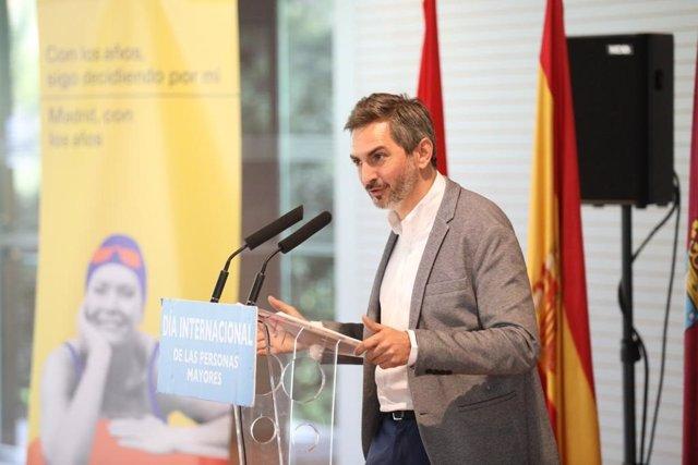 Imagen de recurso de Pepe Aniorte, delegado de Familias, Igualdad y Bienestar Social del Ayuntamiento de Madrid