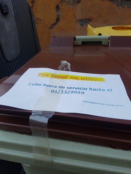 Los cubos de tapa marrón llegan el 1 de noviembre a Fuencarral-El Pardo, Retiro, Moratalaz, Carabanchel y Usera