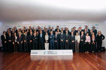 La CEOE y Adecco reúnen a 60 presidentes de empresas en España para impulsar la diversidad y la inclusión