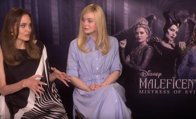 Entrevista con Angelina Jole y Elle Fanning, protagonistas de Maléfica