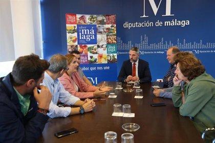 La Diputación de Málaga buscará nuevos mercados importadores de vinos y aceites para compensar los aranceles de EEUU