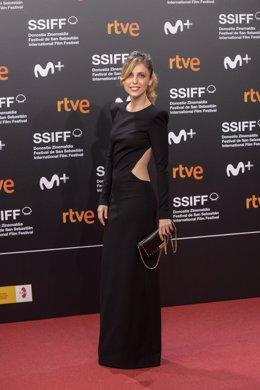 L'actriu Leticia Dolera a la gala d'inauguració del Festival de Sant Sebastià 2019 en el Palau Kursaal (arxiu).