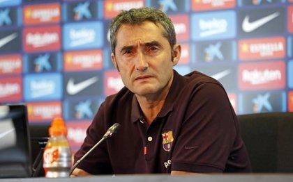 """Valverde cree que el Clásico se podría disputar el 26-O en el Camp Nou """"sin ningún problema"""""""