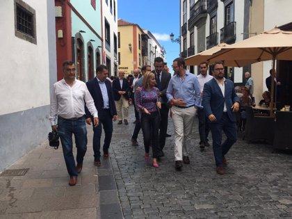 """Maroto dice que la """"única posibilidad"""" de evitar un Gobierno de izquierda es """"unir"""" el voto de centroderecha en PP"""