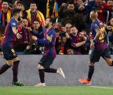 Interior veuria bé l'ajornament del Barça-Madrid, però aclareix que és una decisió de la Federació (Nick Potts/PA Wire/dpa)