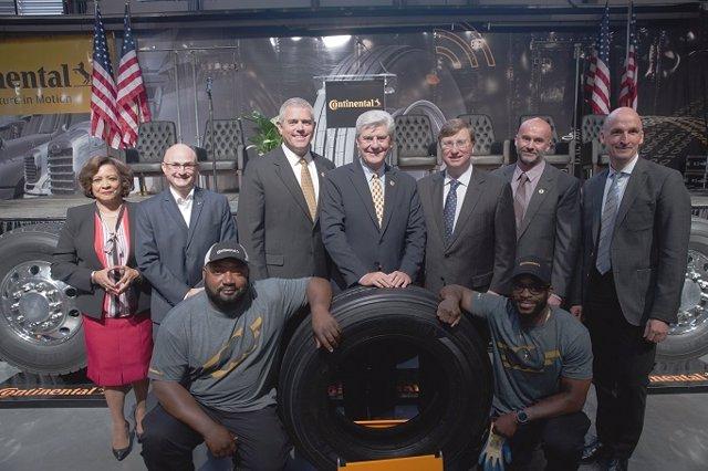 Economía/Motor.- Continental inaugura una planta en Miississippi (EE.UU.), con u