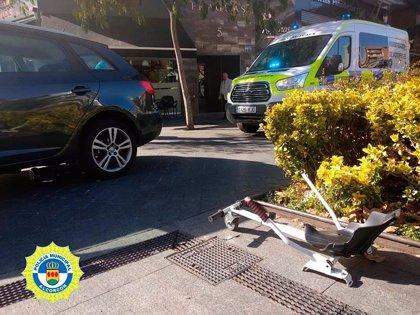 Atropellan a un niño de 7 años subido en un monopatín eléctrico modificado