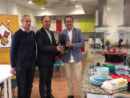 La Fundación Infantil Ronald McDonald y Quttin firman un acuerdo para equipar sus casas y dos salas en España
