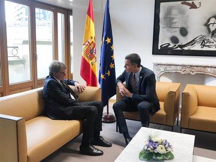 """El Gobierno, satisfecho por el """"contundente"""" apoyo de sus socios europeos ante la situación en Cataluña"""
