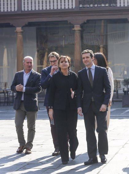 Casado y la presidenta de Foro Asturias firman este viernes en Oviedo el acuerdo para ir juntos a las generales