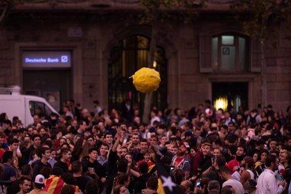 Miles de manifestantes se concentran en una Olimpiada Popular en Barcelona convocados por CDR