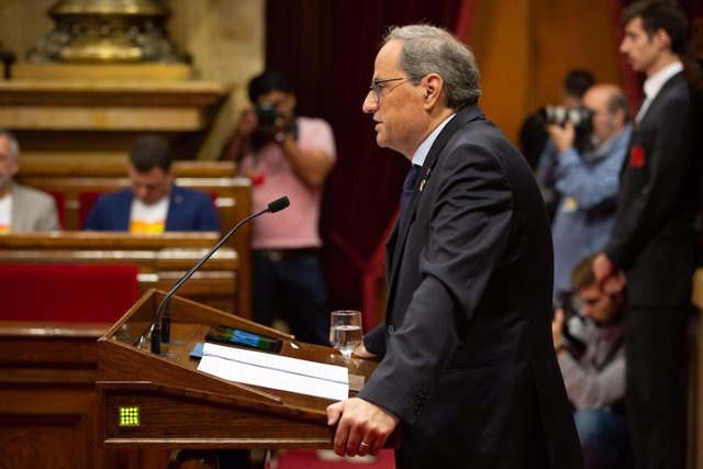 El presidente de la Generalitat, Quim Torra, en una foto de archivo.