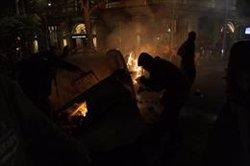 Almenys 11 detinguts dijous el quart dia de protestes contra la sentència (David Zorrakino - Europa Press)