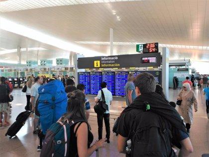 Cancelados 55 vuelos en el Aeropuerto de Barcelona por la huelga