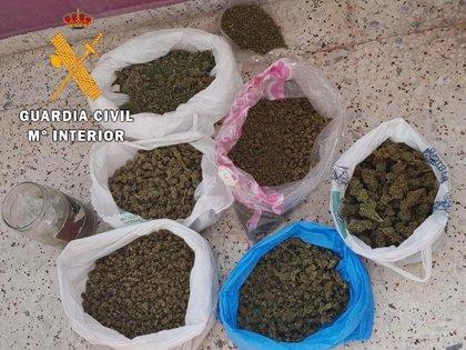 Detenidas e investigadas 13 personas por tráfico de drogas en varias actuaciones en la provincia de Cáceres