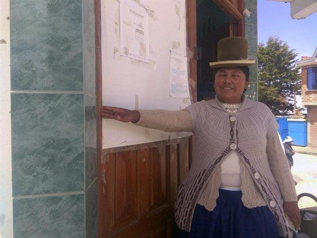Bertha Quispe, Alcaldesa De Collana, Bolivia