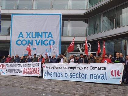 """La CIG urge a la Xunta la convocatoria de la mesa del naval porque el sector """"no puede esperar más"""""""