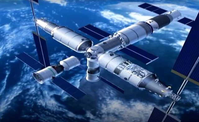 China se prepara para la construcción de la estación espacial