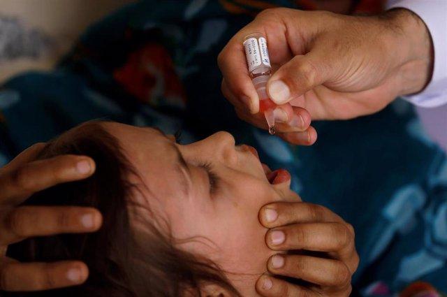 Vacuna contra la polio en Pakistán