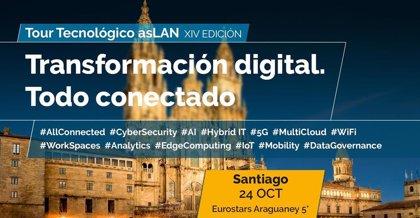 El tour tecnológico ASLAN 2019 compartirá en Santiago experiencias de transformación digital con las empresas gallegas