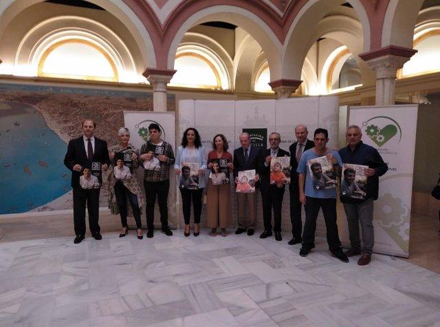 Presentación de la campaña de Autismo Andalucía 'Una de cada cien' en Sevilla.
