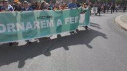 5.700 estudiants de Lleida es manifesten per la vaga general (EUROPA PRESS)