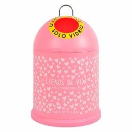 Miniglú rosa 'Llenos de vida' diseñado por Agatha Ruiz de la Prada para la campaña.