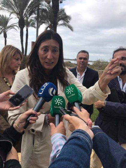 """Loles López (PP-A), sobre el 'caso Huévar': """"Intentar comprar la libertad de un pueblo es lamentable"""""""