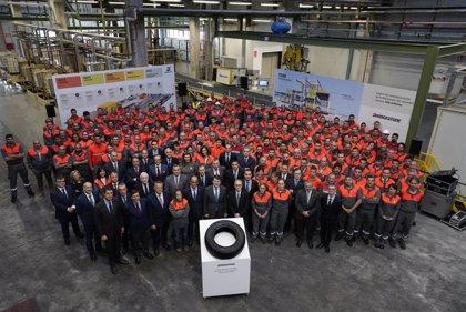 Bridgestone alcanza los 300 millones de neumáticos en Burgos