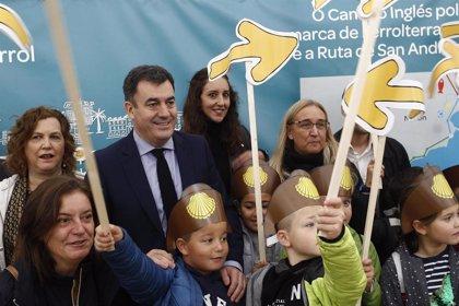 El I Festival Escolar do Camiño Inglés reúne a miles de escolares de centros de Ferrolterra