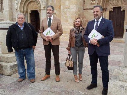 """Vox concurre a las elecciones generales por León """"esperanzados e ilusionados"""" de tener representación"""