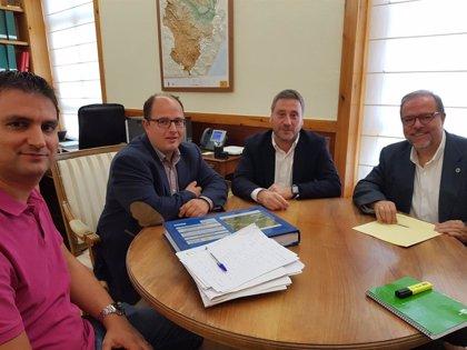 Diputación de Teruel y Gobierno aragonés colaborarán para la construcción de la carretera de acceso sur a Javalambre