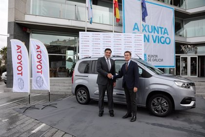 La planta de PSA en Vigo fabricará más de 35.000 unidades al año del Toyota Proace City