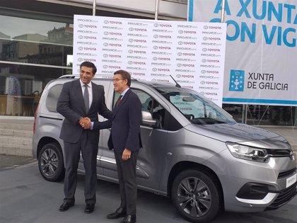 Toyota inicia a final de ano a produción en serie da súa furgoneta na planta de PSA Vigo