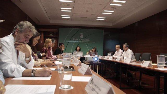 Reunión de la Comisión de Artesanía de Andalucía.